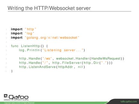 Go lernen für einen Symfony Websocket Proxy - Qafoo GmbH